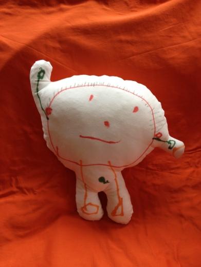 Un muñeco para Wanda, diseñado por Vera
