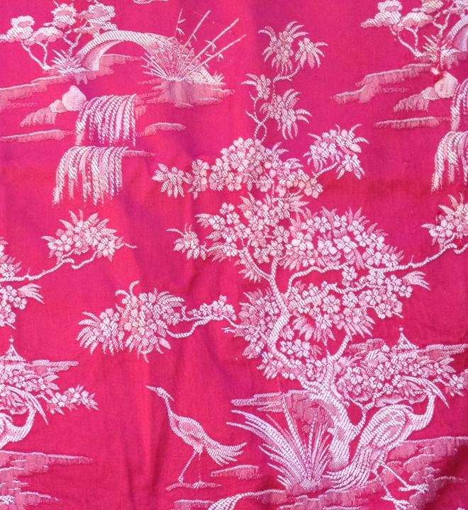 tela colchon motivo arbol florido