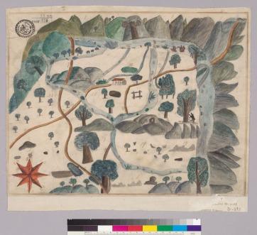 Diseño del Rancho San Miguelito-Monterey